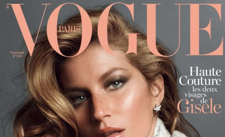 Gisele Bundchen Vogue Paris Cover