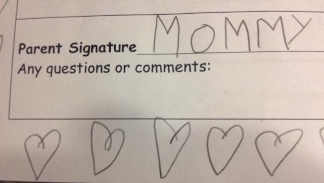 Mommy Signature
