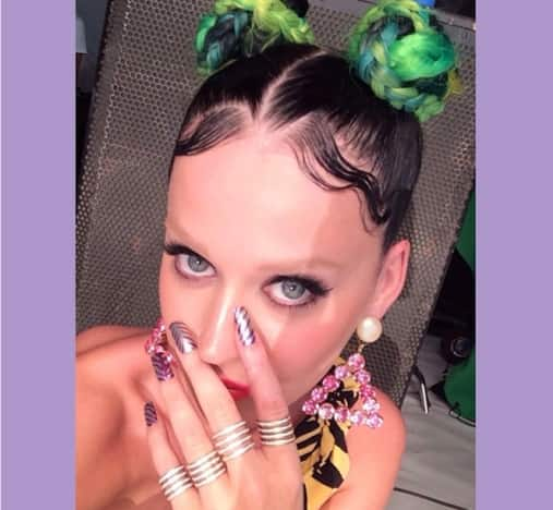 Katy Perry: Bleached Eyebrows