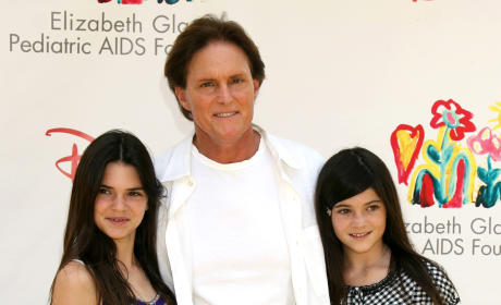 Kylie, Bruce & Kendall Jenner: A Time For Heroes Benefit 2008
