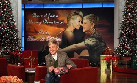 Ellen and Portia Christmas Card