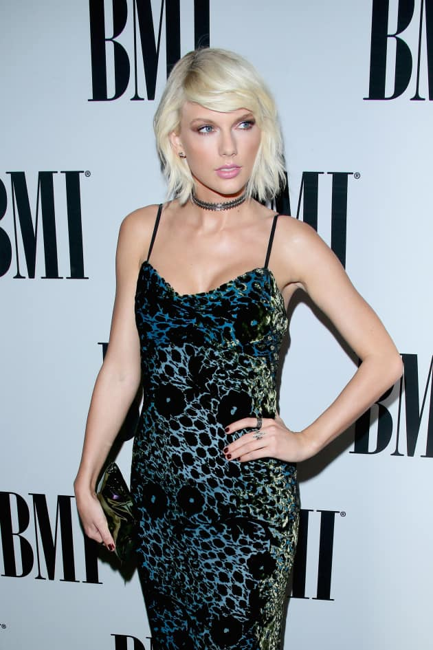 Taylor Swift at BMI Pop Awards