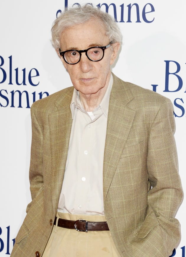 Woody Allen on Red Carpet