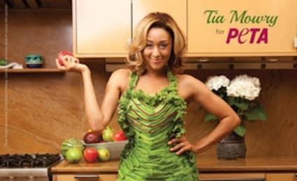 Tia Mowry: Nearly Nude for PETA!