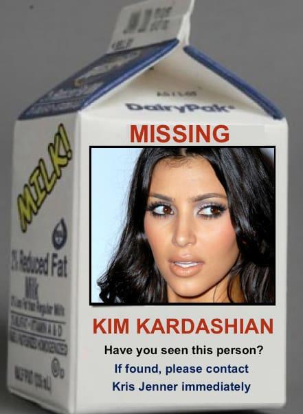 Kim Kardashian: Missing Person