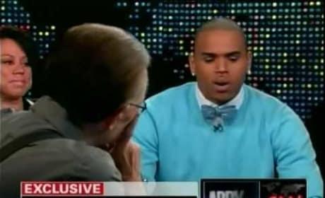 Chris Brown on Larry King Live: Part I