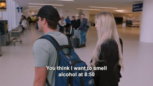 Yara Zaya - Do you think I want to smell alcohol at 8:50?