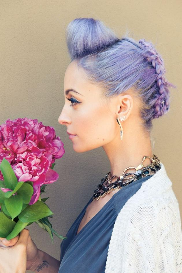 Nicole Richie Flower Photo
