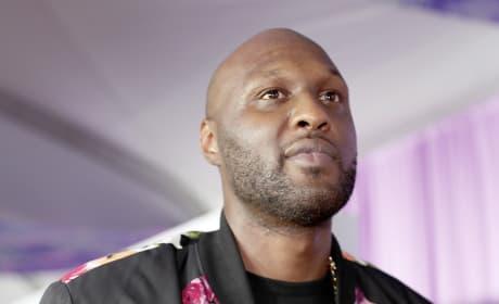 Lamar Odom at Kids Choice Awards