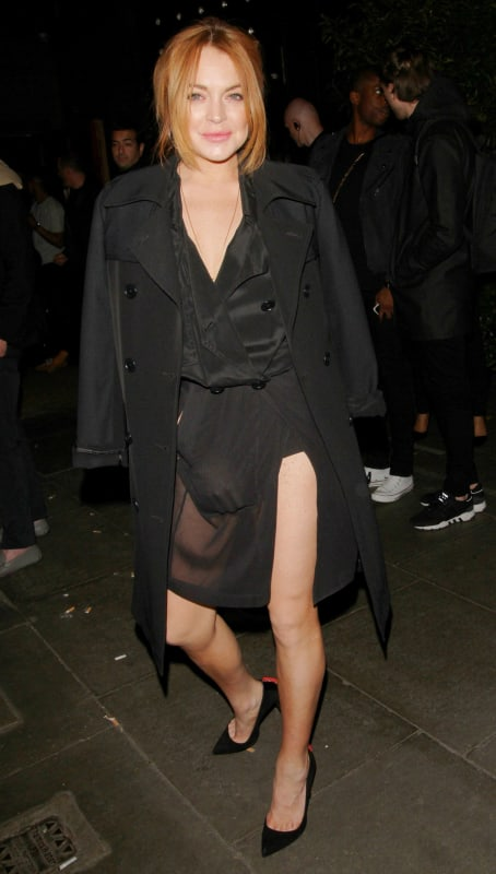 Lindsay Lohan in London Image