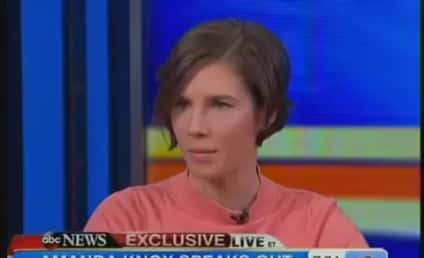"Amanda Knox: Conviction is Wrong, ""Hit Me Like a Train"""