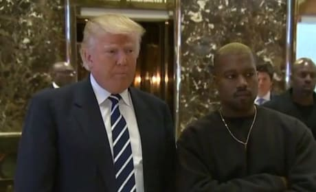 Donald Trump and Kanye West Photo