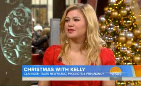 Kelly Clarkson on Today