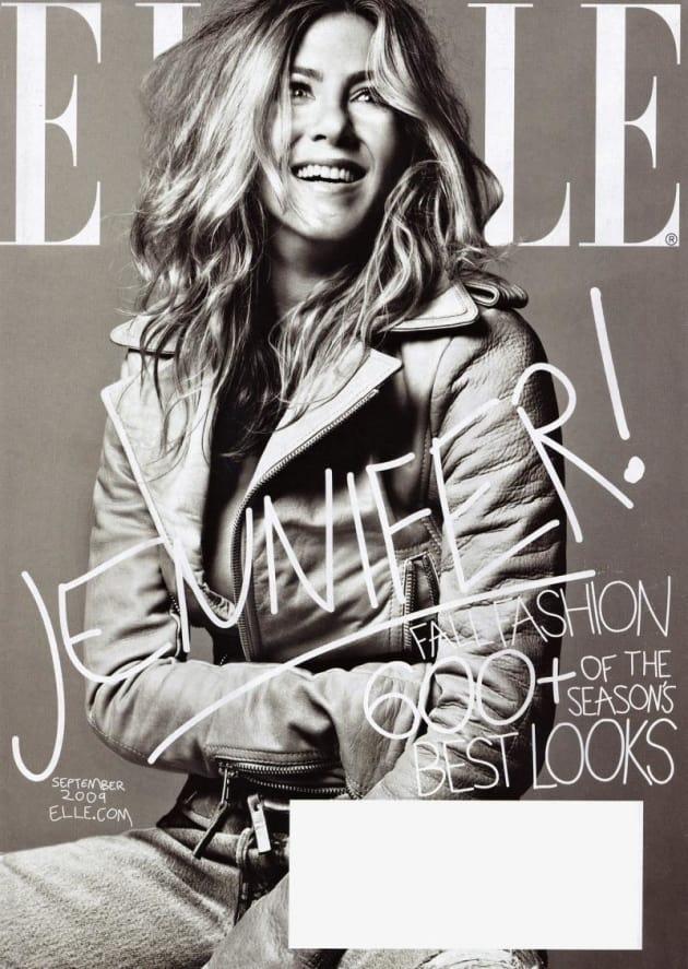 Jennifer Aniston Elle Cover