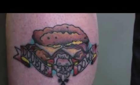 KFC Double Down Tattoo Ad