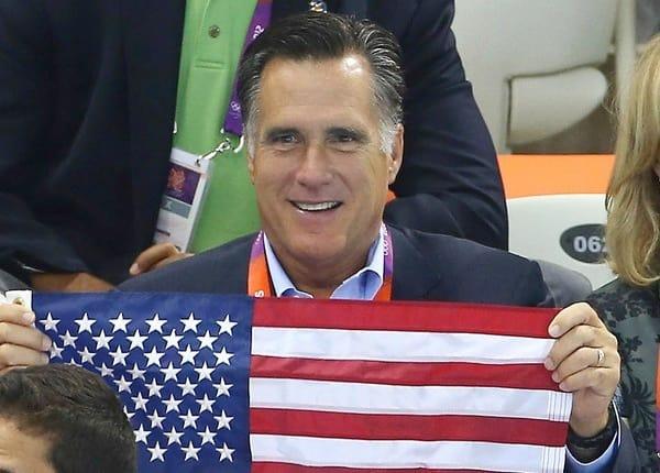 Mitt Romney at the Olympics