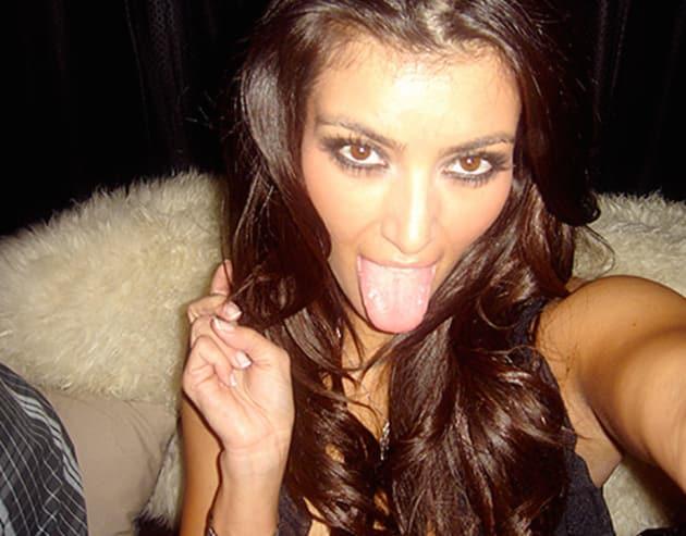Kim Kardashian Tongue Photo - The Hollywood Gossip
