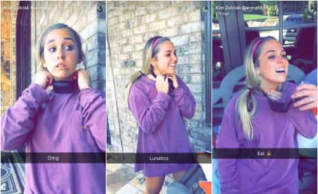 Kim Zolciak Daughter Ariana Wears Shock Collar