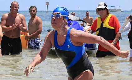 Diana Nyad Finishes Historic Cuba-to-Florida Swim