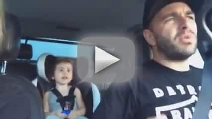 """Father Gets REALLY INTO """"Let It Go"""""""