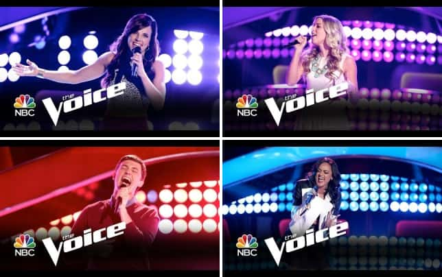 Kaleigh glanton have you ever seen the rain the voice audition