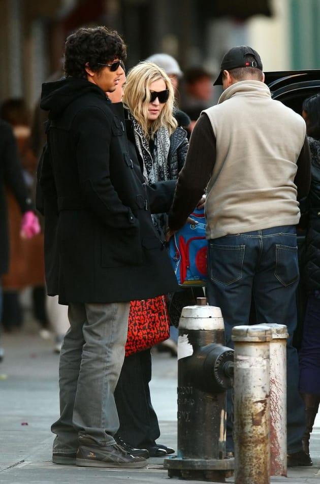 Madonna and Jesus Luz Photo