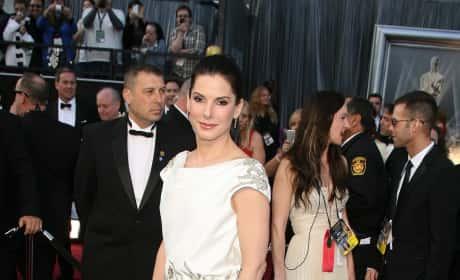 Sandra Bullock at the Oscars