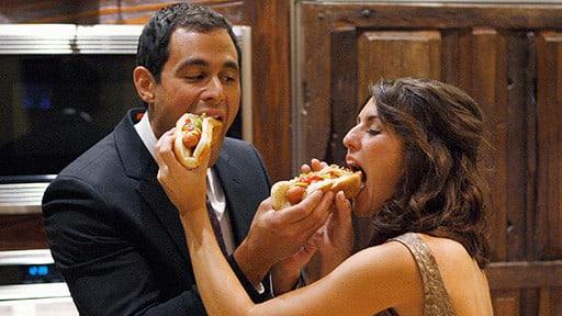 Jason and Jillian Eat Hot Dogs