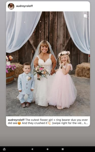Fleurs Enfants et la Mariée