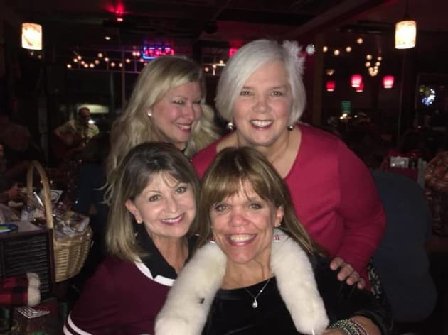 amy roloff christmas party 2017 the hollywood gossip