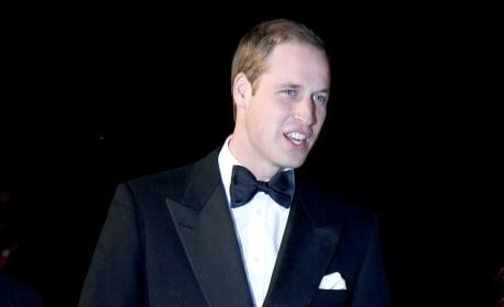 William in a Tux