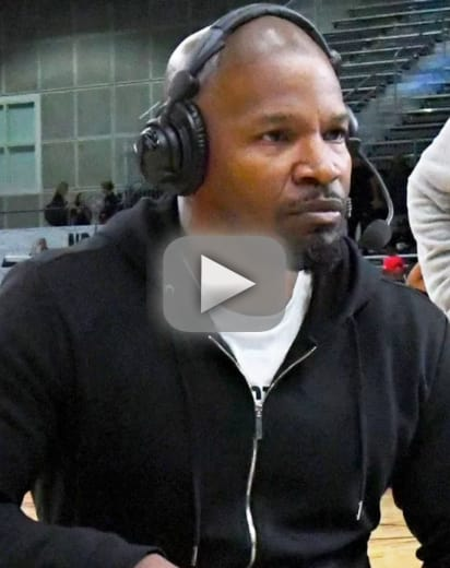 Jamie foxx abruptly ends espn interview due to katie holmes ques