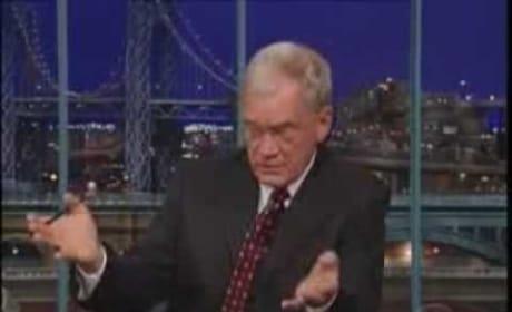 Letterman on Affair