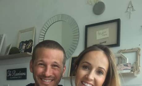 Ashley Hebert and J.P. Rosenbaum Pic