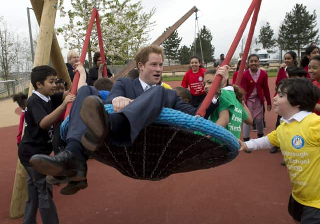He's In a Swing