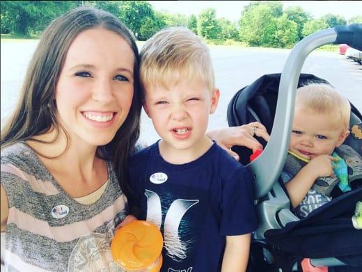 Jill Duggar Votes