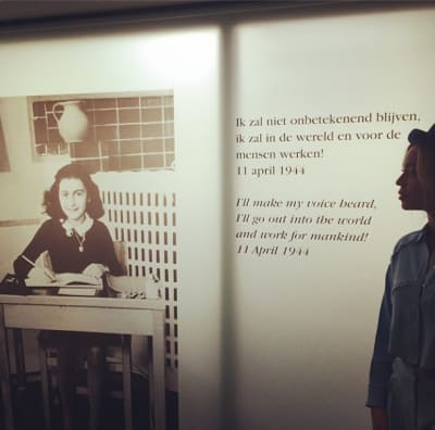 Beyonce Remembers Anne Frank