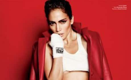 Jennifer Lopez in V