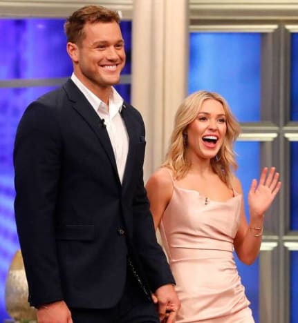 Colton Underwood and Cassie Throwback