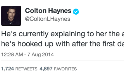 Colton Haynes Live Tweets First Date: A Must-Read!