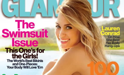 Lauren Conrad: Topless in Glamour!
