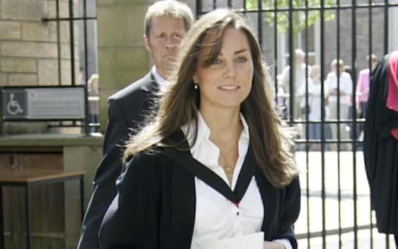 Kate Middleton in Private School
