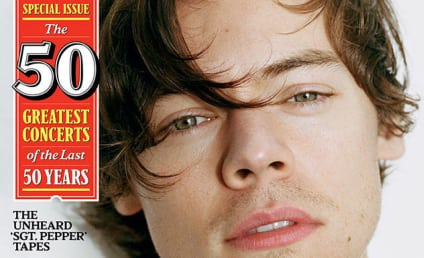 Harry Styles Squirms Over Taylor Swift, Spills Handsome Guts