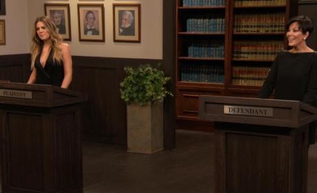 Khloe Takes Kris to Court