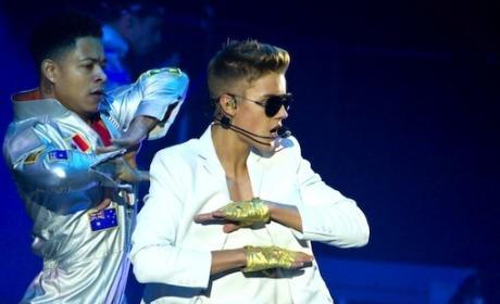 Justin Bieber France Concert Pic