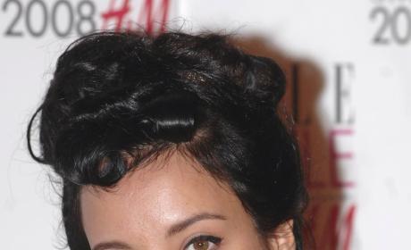 Lily Allen Up In A Bun Hair