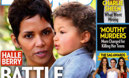 Sheer Pregnancy, by Halle Berry