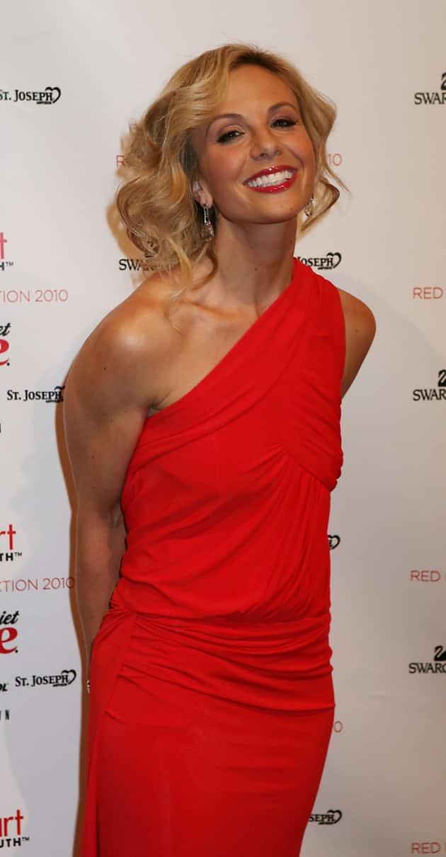 Elisabeth Hasselbeck at Fashion Week