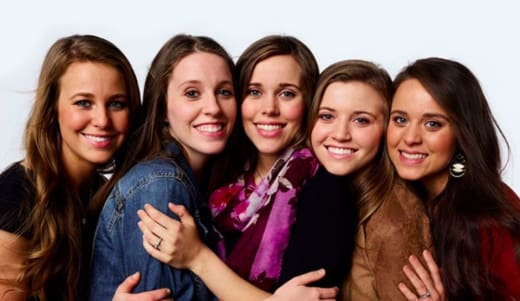 Jana, Jill, Joy-Anna, Jessa and Jinger Duggar