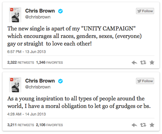 Chris Unity Tweetz